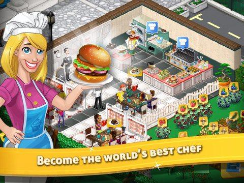Screen shot of Chef Town by Nanobit