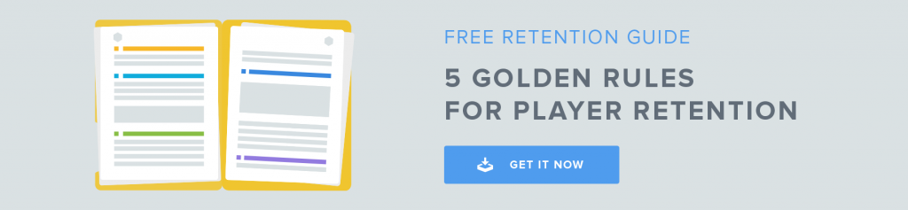 Player Retention Guide Footer Banner